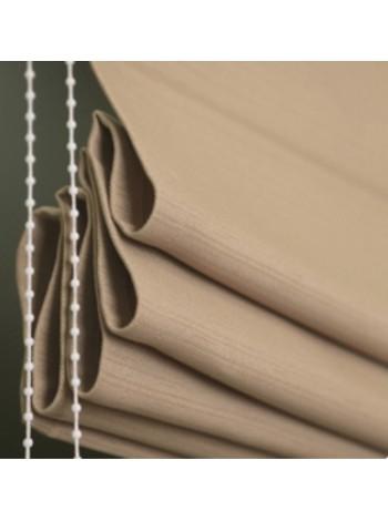Римская штора Флекси светло-коричневый