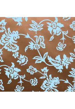 Винтаж 04 коричнево-голубой